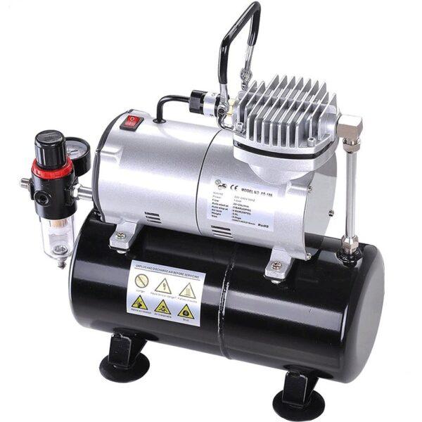 Compresor Fengda fd-186 El Mejor compresor para Aerografos del 2020