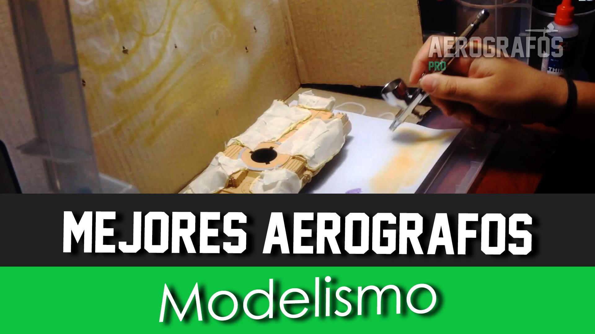 Aerogafos para Modelismo