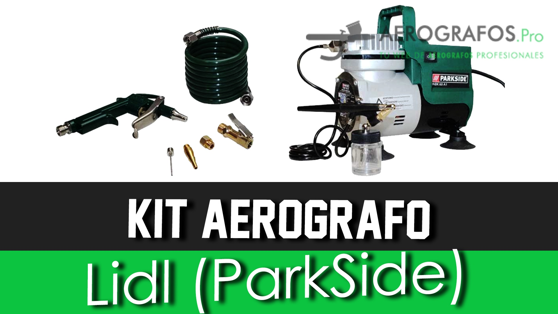 Aerografo Lidl (Parkside)